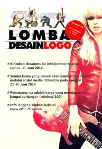 Lomba desain logo Ethnictro